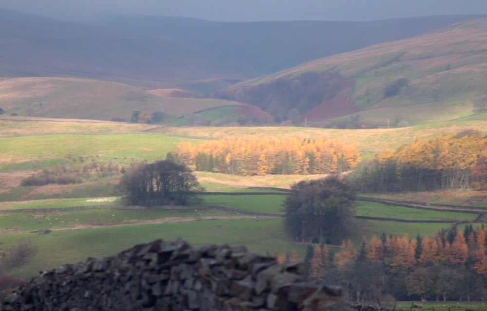 A view of the Yorkshire Dales National Park